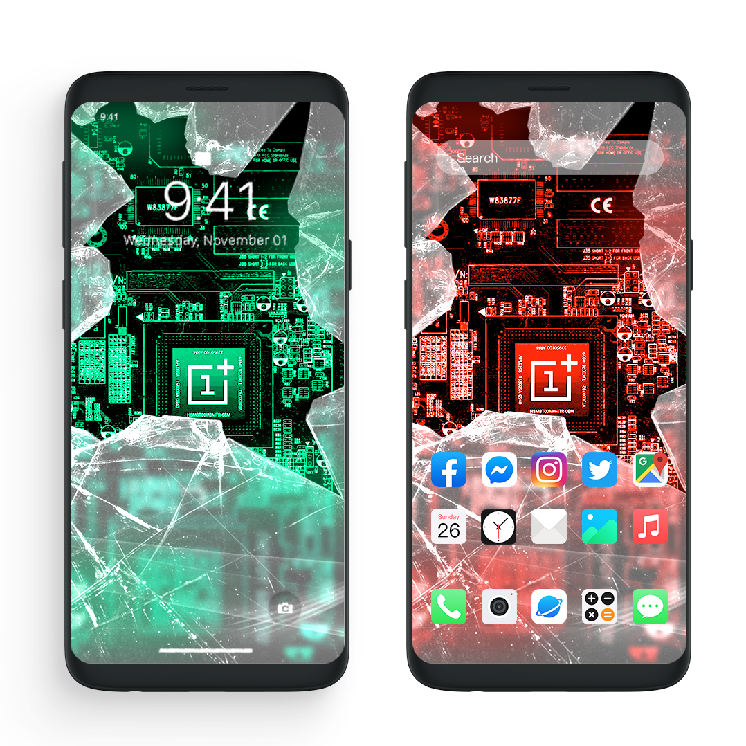 Do You Like These Broken Screen Wallpapers Come Download The