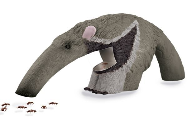 Anteater Bug Vac is a baby anteater motorized bug vacuum