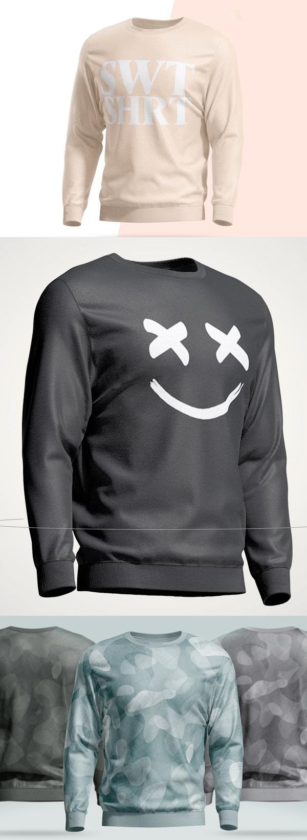 Download Sweatshirt Animated Mockup In 2020 Hoodie Mockup Shirt Mockup Sweatshirts