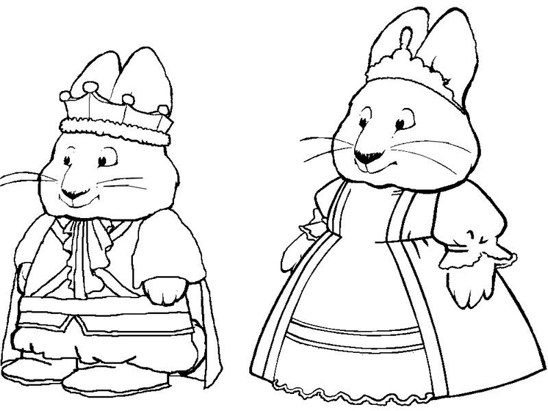 Max and Ruby Coloring Pages Movies and TV Show Coloring Pages