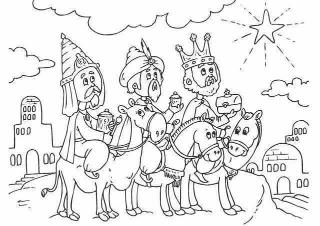 Dibujo De Los Reyes Simple Dibujo Reyes Epiphany Coloring Christmas Coloring Pages Coloring Pages