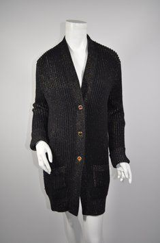 Chanel Cashmere & Silk Blend Long Sweater Cardigan $1,215