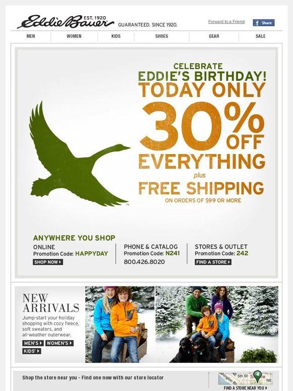 Eddiebauer.com Promo Codes & Coupons