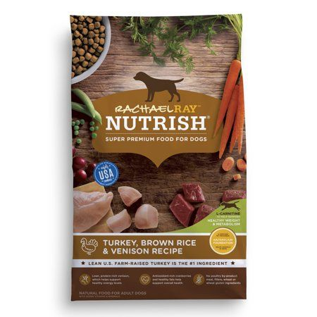 Rachael Ray Nutrish Natural Dry Dog Food Turkey Brown Rice