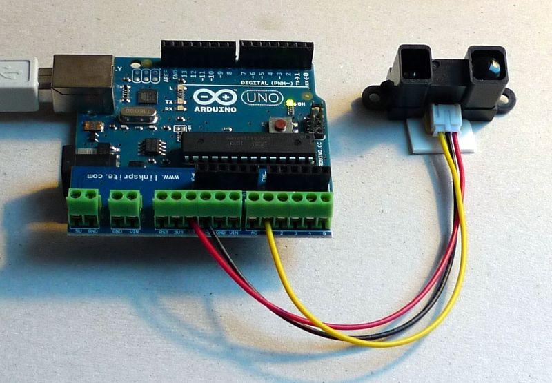Sharp Infrared Arduino Arduino Sensoren Esp8266 Arduino