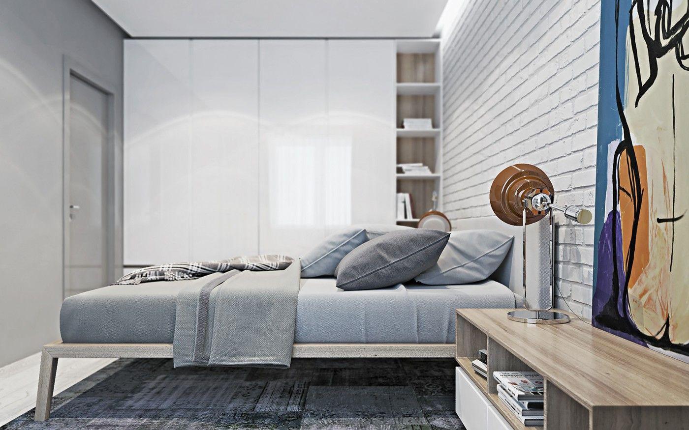 Kozatskiy apartment on Behance Residential interior