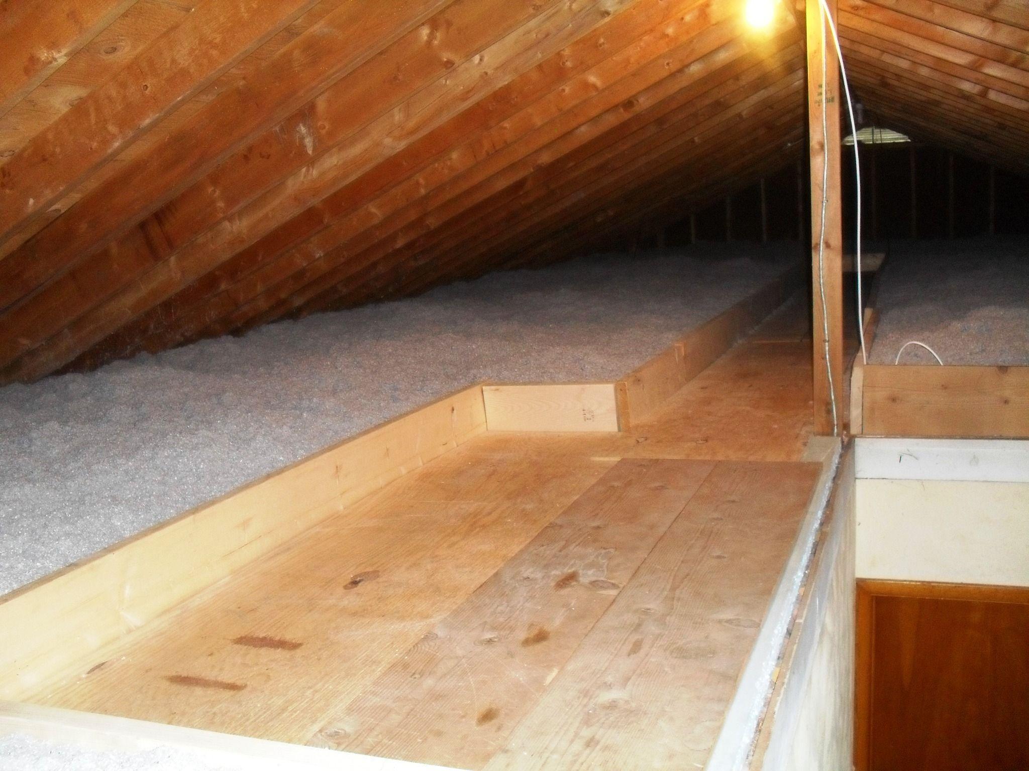 Air sealing the attic. By Michael kerbs Home improvement