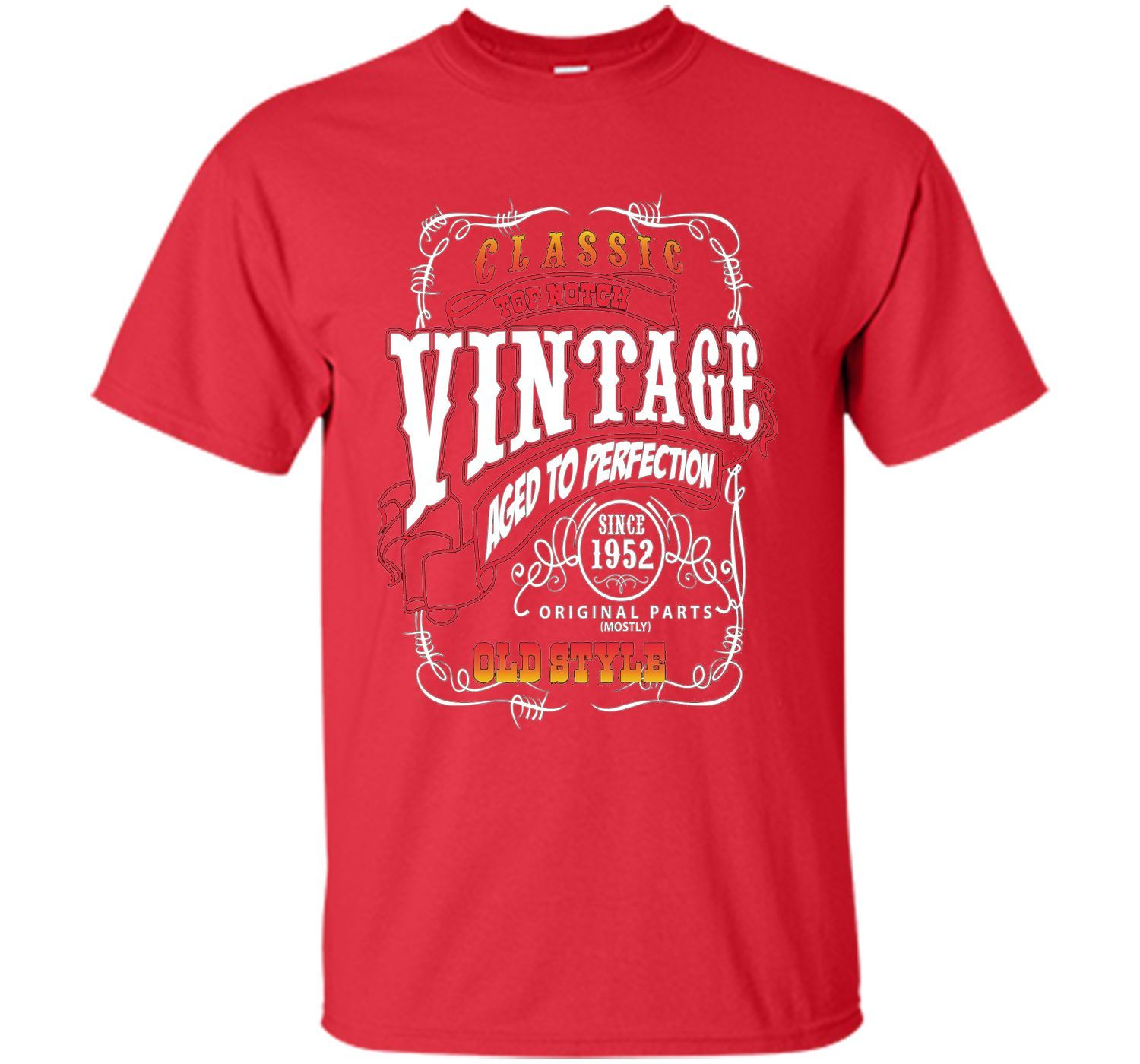 Vintage 1952 Aged To Perfection64 Years Old Birthday Gifts