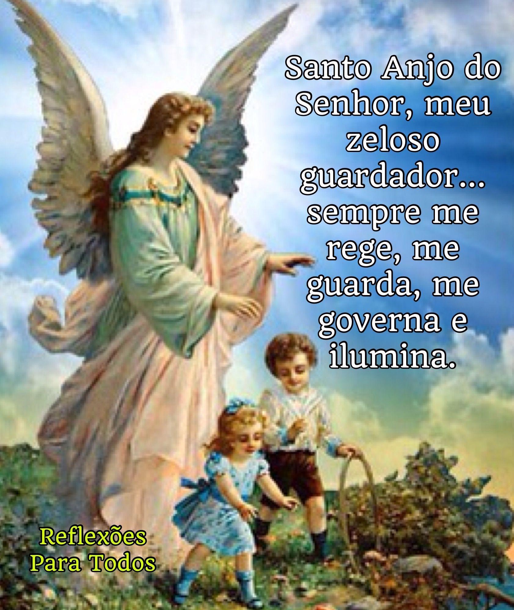 02 De Outubro Dia Do Anjo Da Guarda Anjo Da Guarda Com