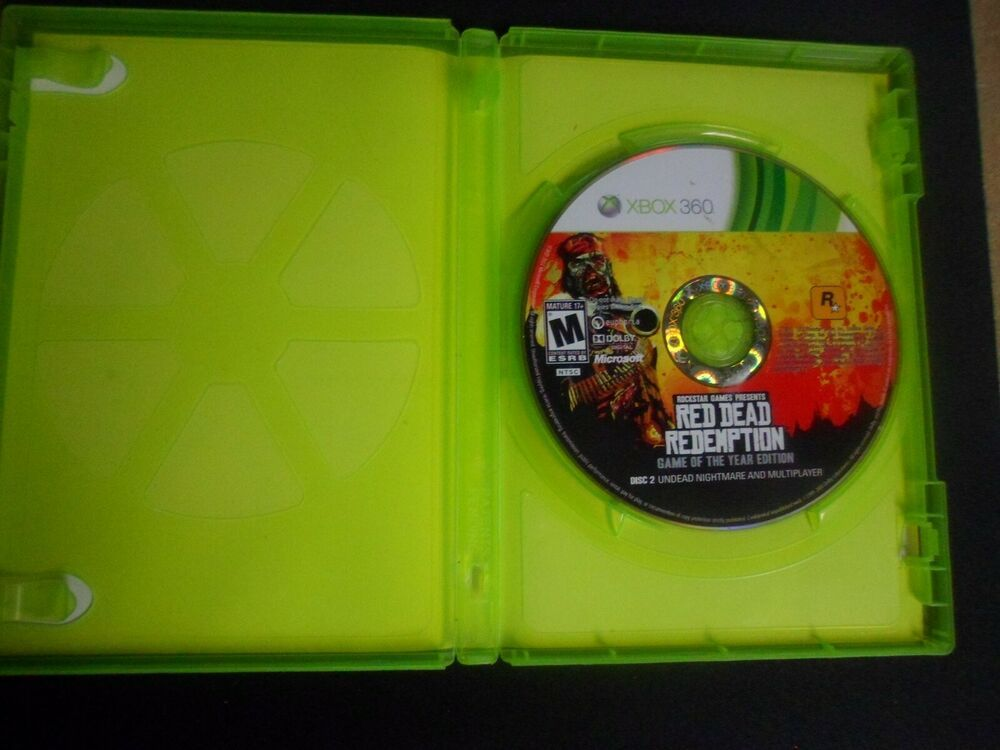 Microsoft Xbox 360 Red Dead Redemption Undead Nightmare Disc 2