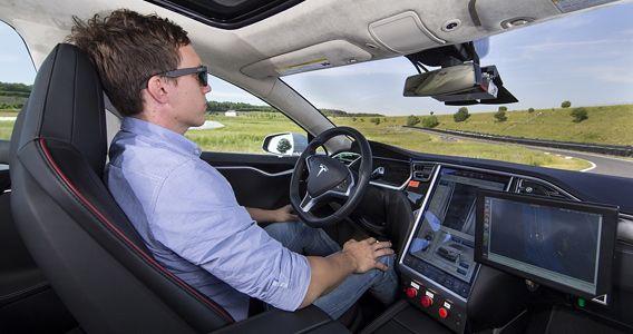 Autonomes Fahren. Bild: Bosch