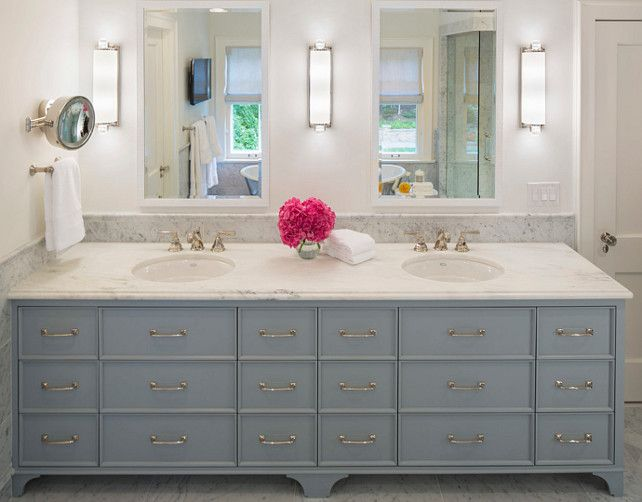 Painting Bathroom Cabinets Color Ideas love how this cabinet color looks with that pretty brass hardware