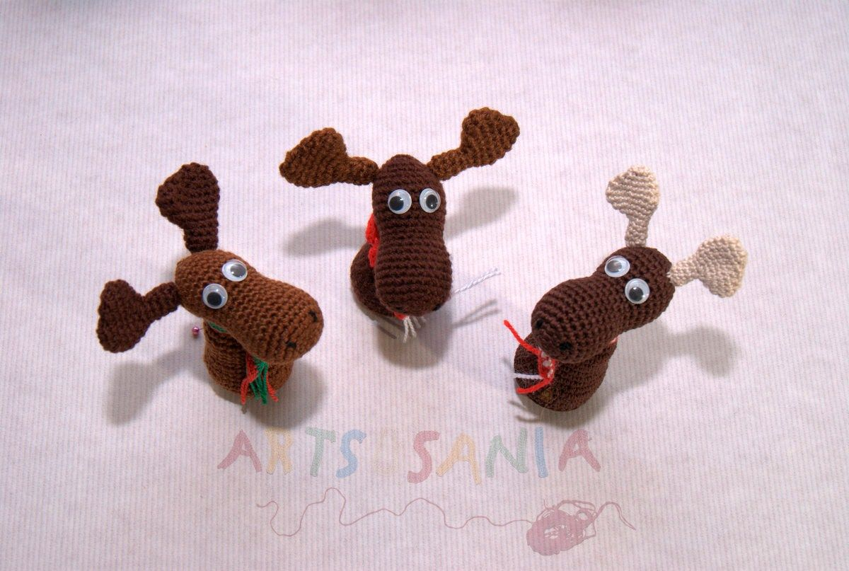 Renos navideños www.artsusania.com www.facebook.com/artsusania