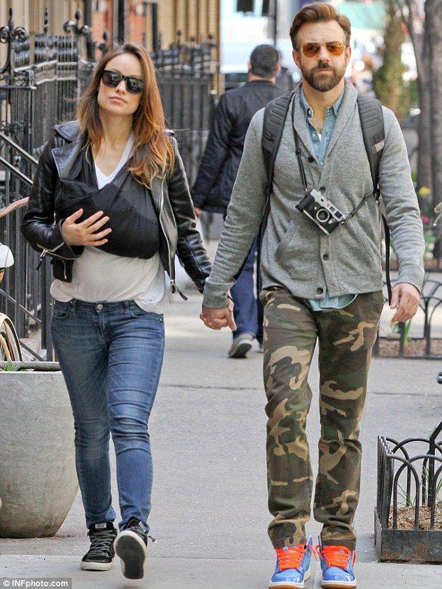 Olivia Wilde And Jason Sudeikis Pictured For First Time With Baby Otis Olivia Wilde Jason Sudeikis Olivia Wilde Style