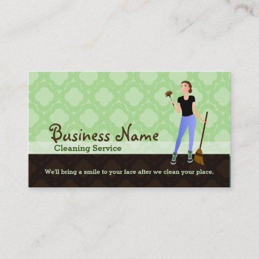 House Cleaning Business Cards Zazzle Com In 2021 Cleaning Business Cards Cleaning Business Bottle Business