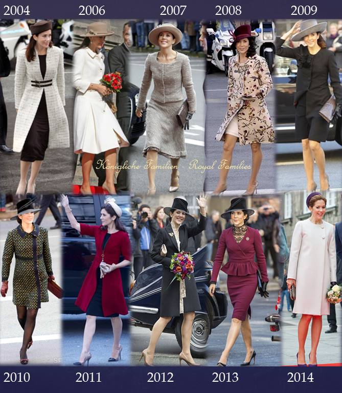 the annual opening of Parliament was today . Mary looked great as always ...see the past years outfit