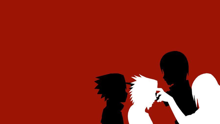Sasuke And Itachi Minimalist Wallpaper Sasuke And Itachi Naruto Art Itachi Uchiha