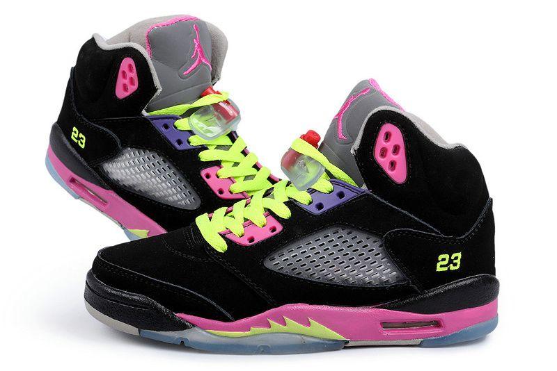 Women Air Jordan 5 Shoes