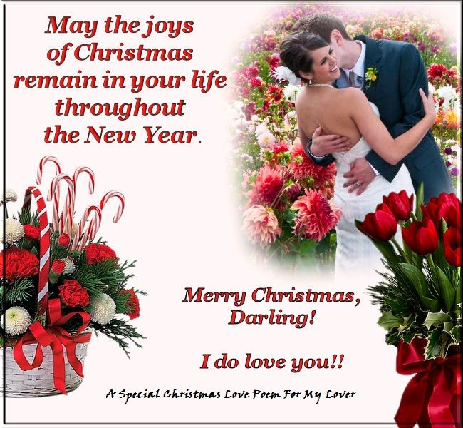 A Special Christmas Love Poem For My Lover ! | christmas poems ...