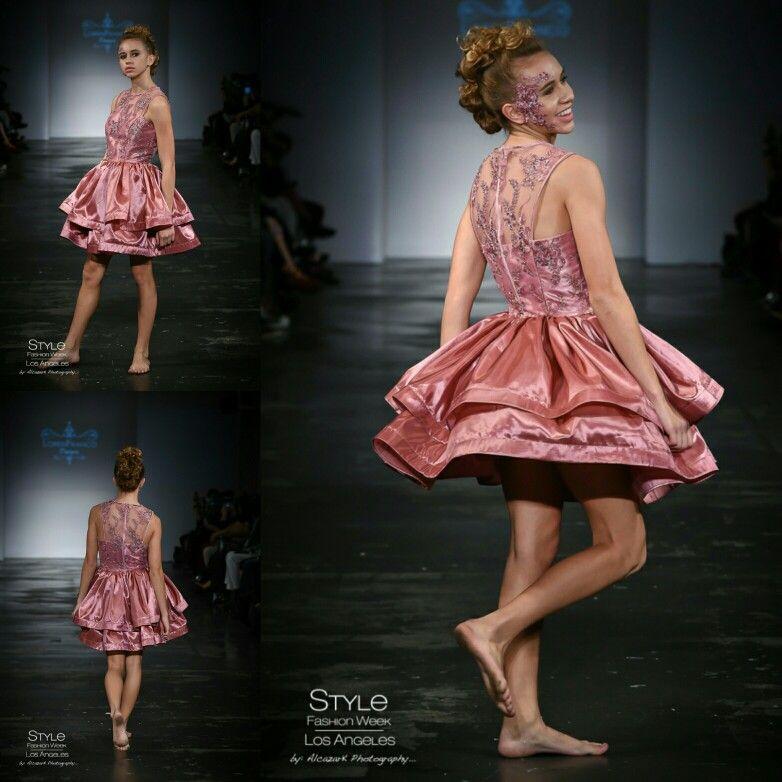 Loren Franco Designs Spring/Summer 2016 - Teen Pink Dress