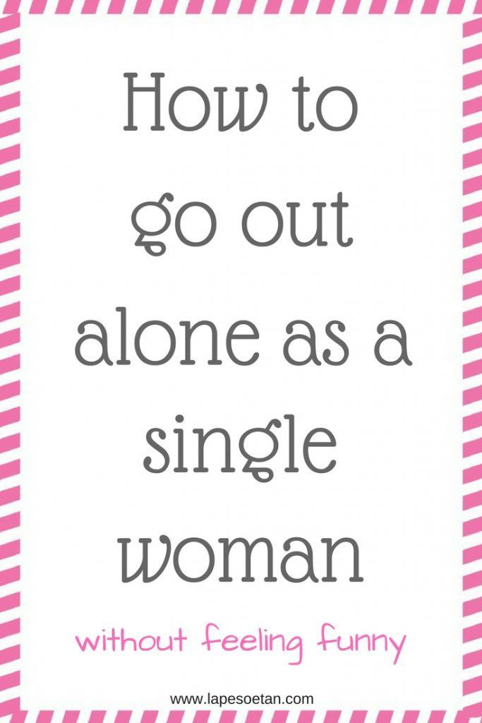 happy single woman living alone