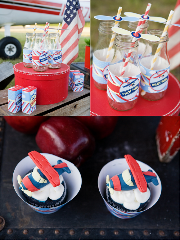 Little Pilot Airplanes Birthday party ideas and Birthdays