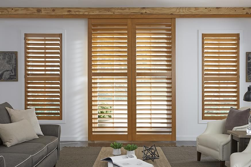 Rustic Window Treatments And Coverings Lafayette Interior