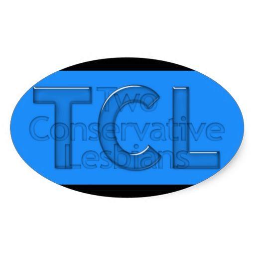 TCL Blue Oval Sticker