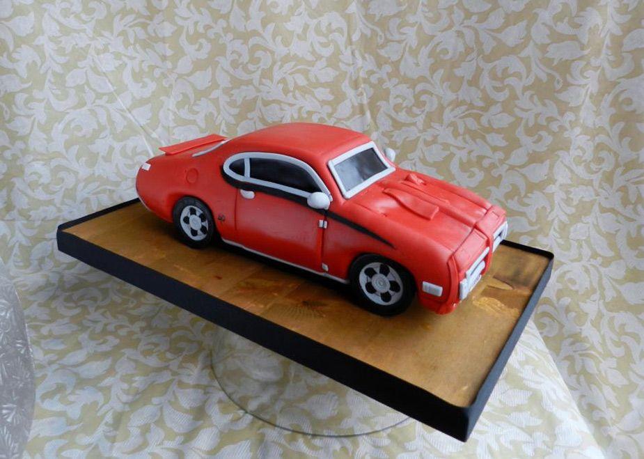 дизайнеры стремятся торт ретро автомобиль фото после