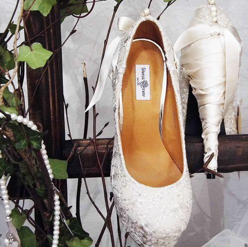 Federica Bruno Couture Custom Shoes www.federicabruno.com
