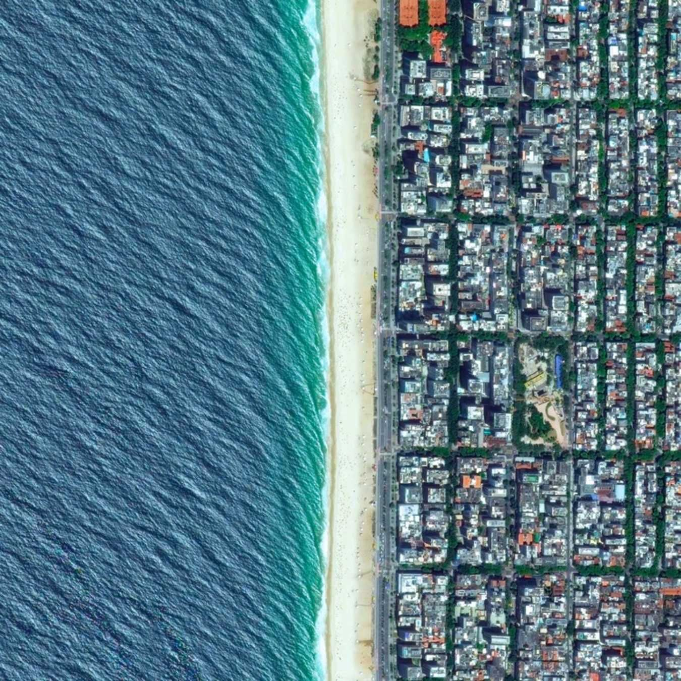 This Great Instagram Shares A Different Mind Blowing Satellite Image Each Day. The world as art.