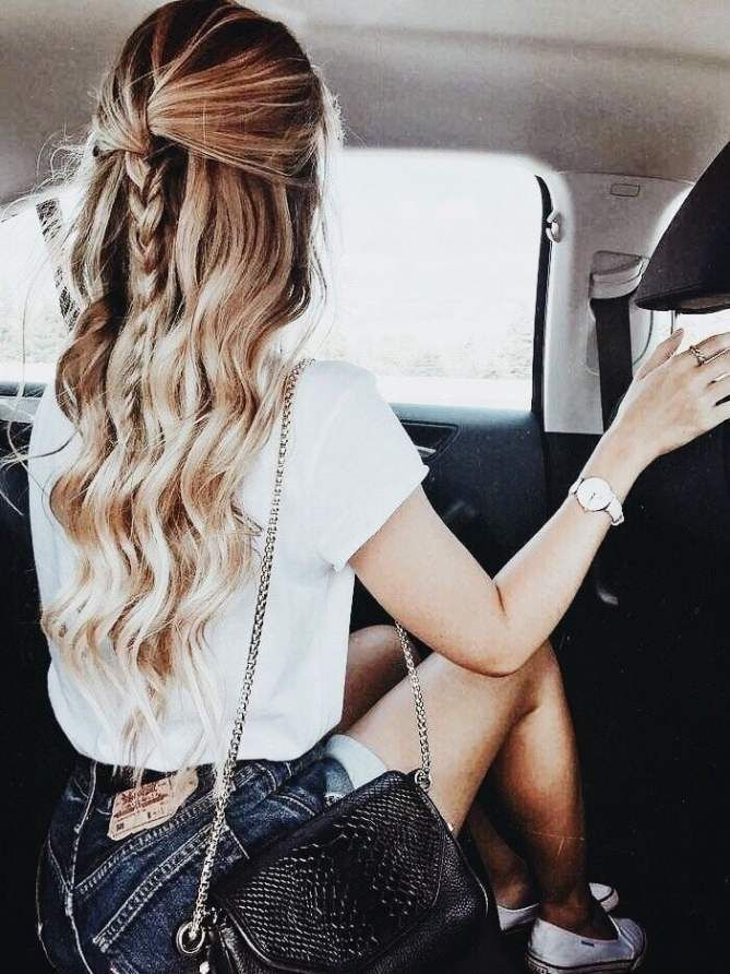 www.hairstlyless.... - 9 super simple hairstyles for busy morning society#busy #hairstyles #morning #simple #society #super #wwwhairstlyless