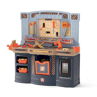 Step 2 Home Depot Building Set We Love This Playset Kids Workbench Play Kitchen