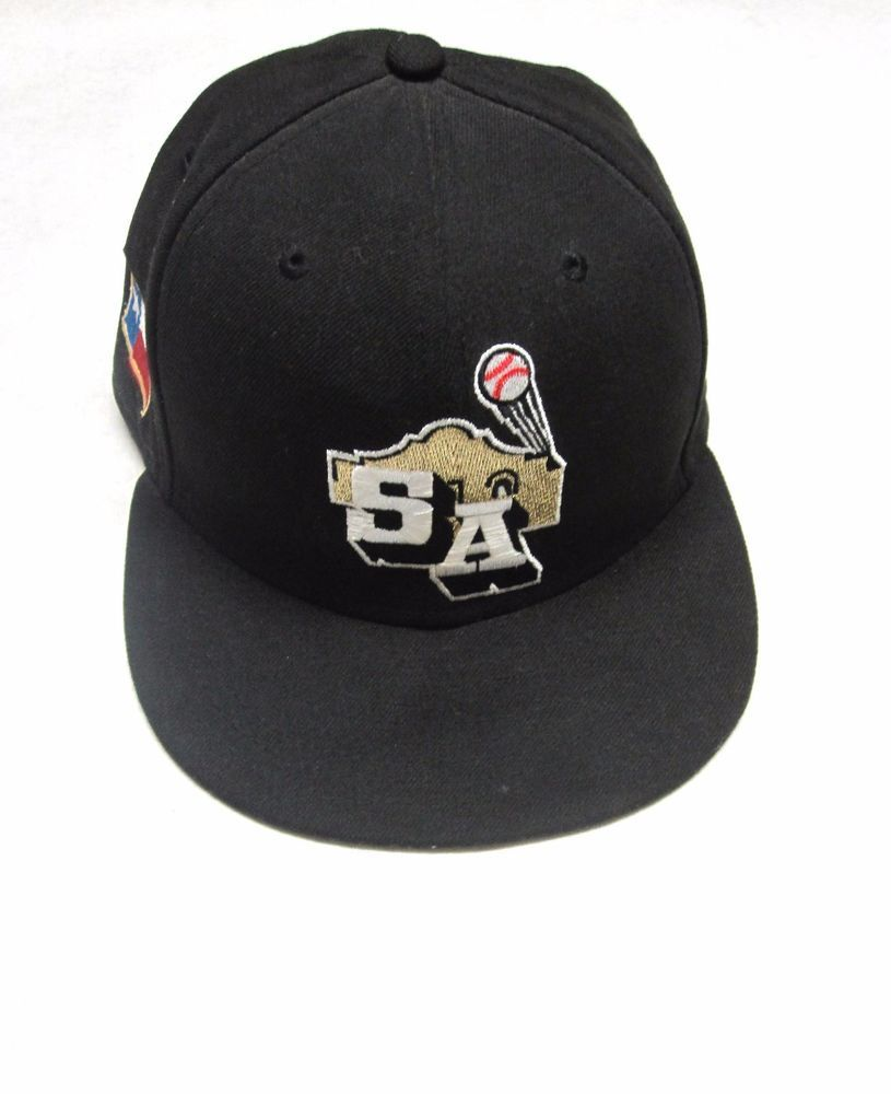 c658646efcdc2 San Antonio Missions 59Fifty Fitted Hat Cap Size 7 SA Texas Baseball ...