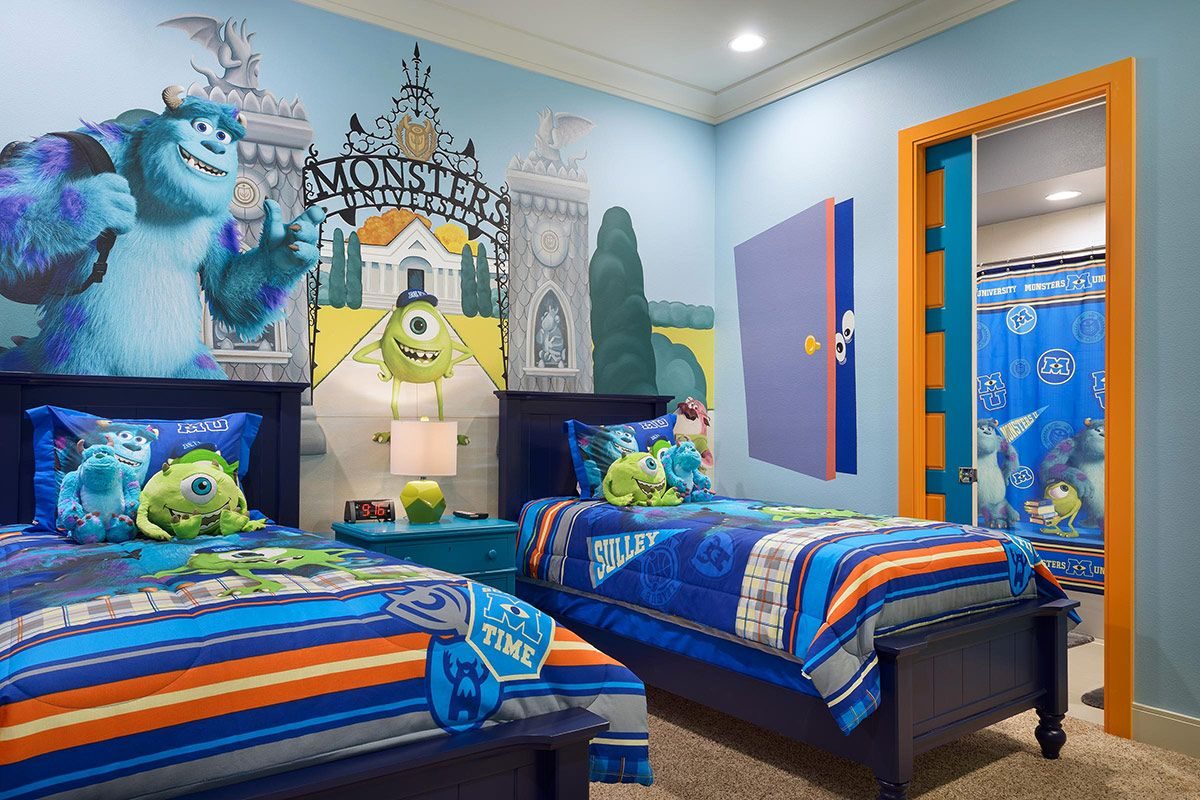 Monster Inc bedroom for the little monsters!