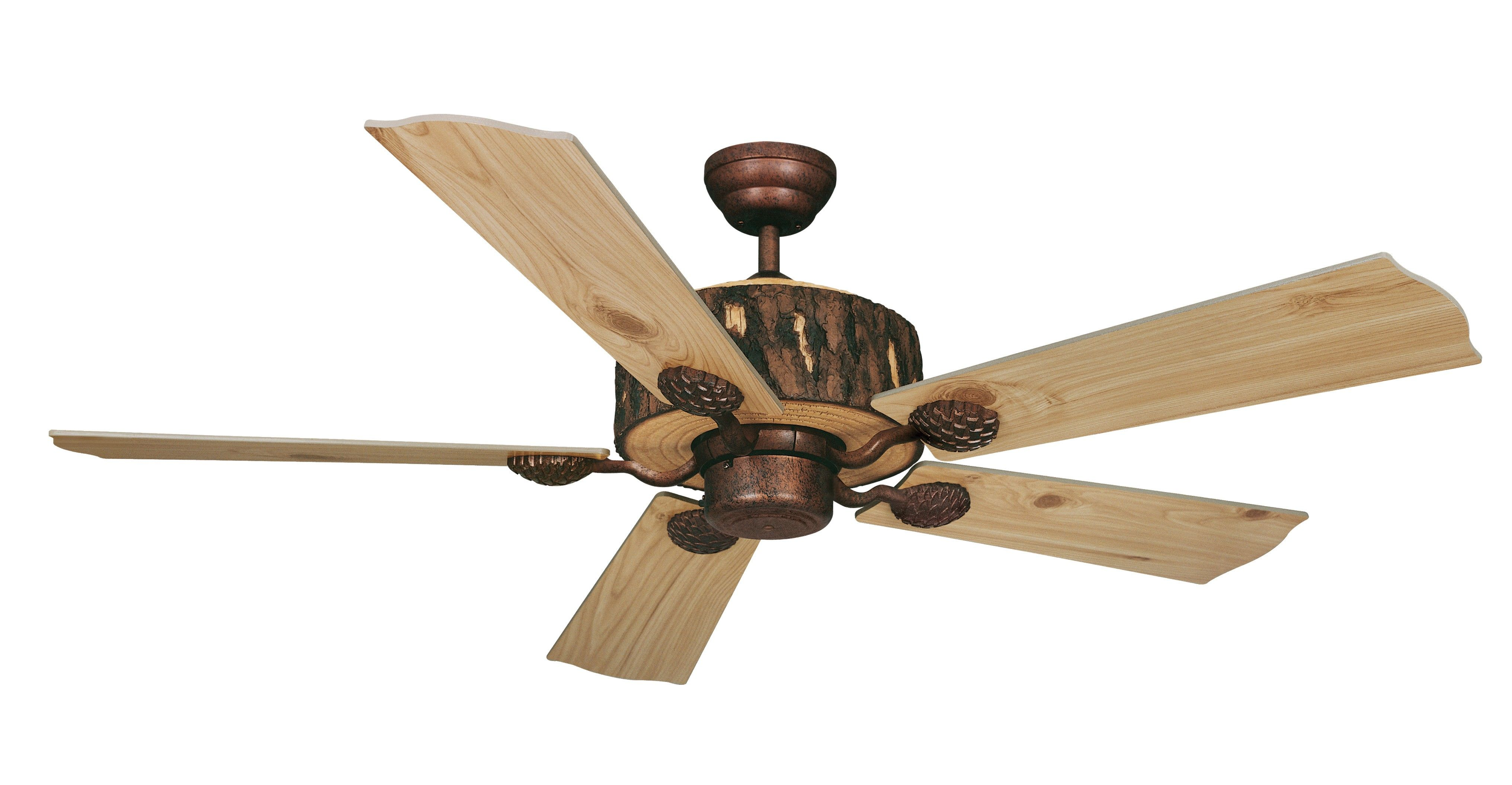 Vaxcel Lighting Fn52265wp Log Cabin 52 Ceiling Fan Weathered Patina