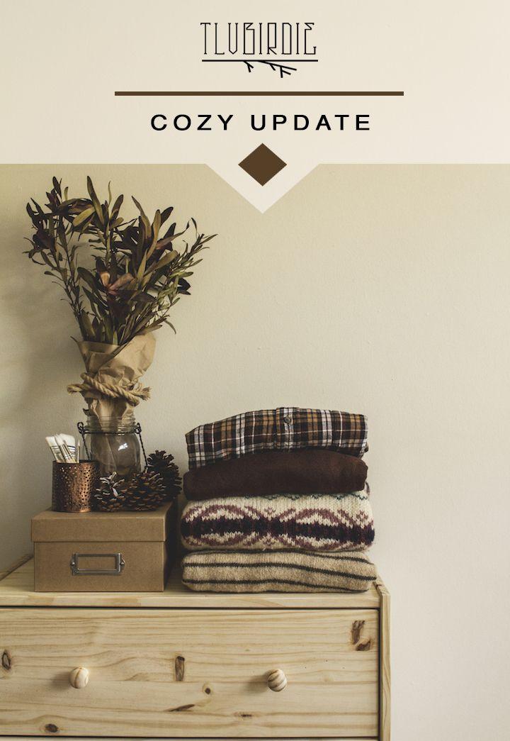 Cozy Vintage Update : wool, bold florals, stripes and folk motives | TLV Birdie Store