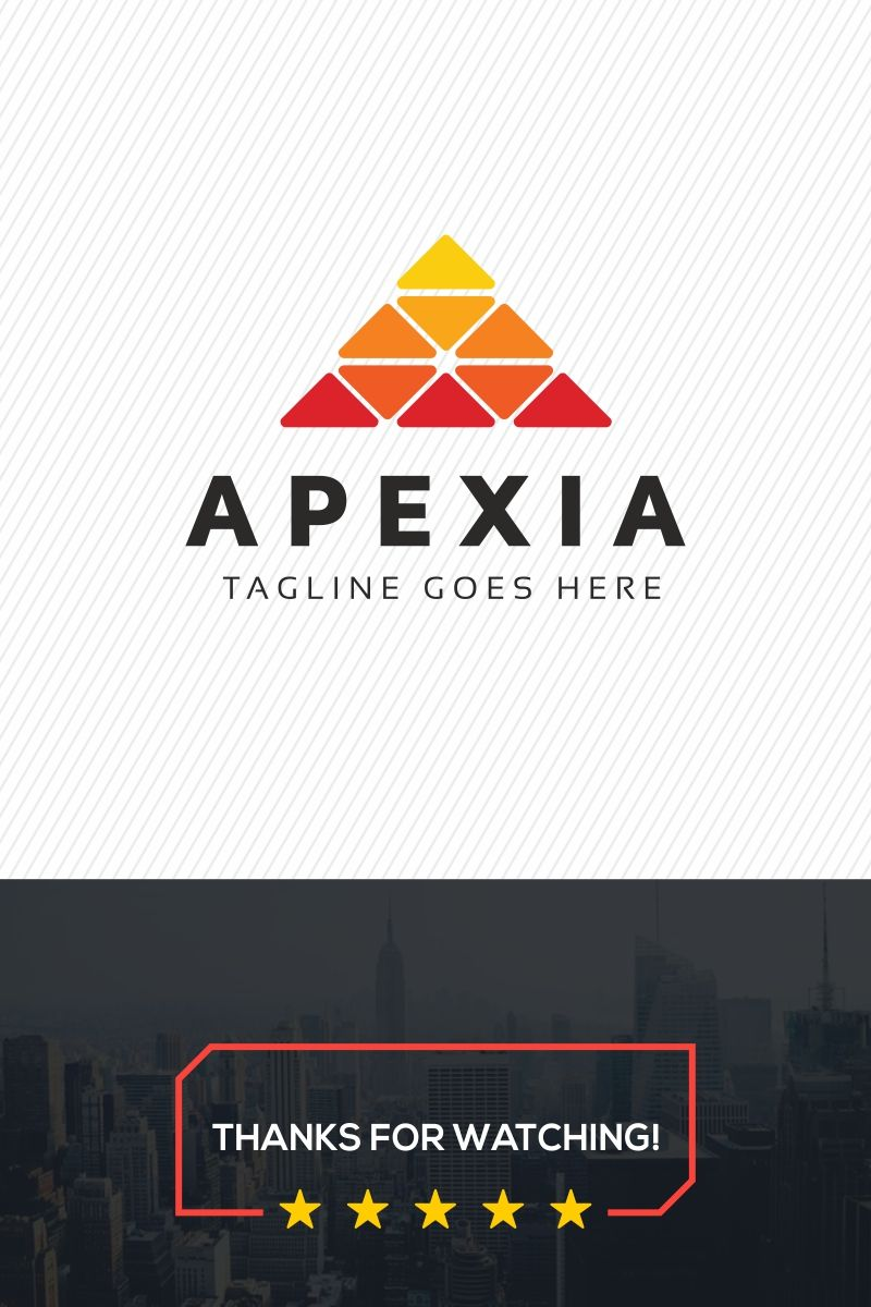 Apexia Logo Template 70009 Logo templates, Templates, Logos