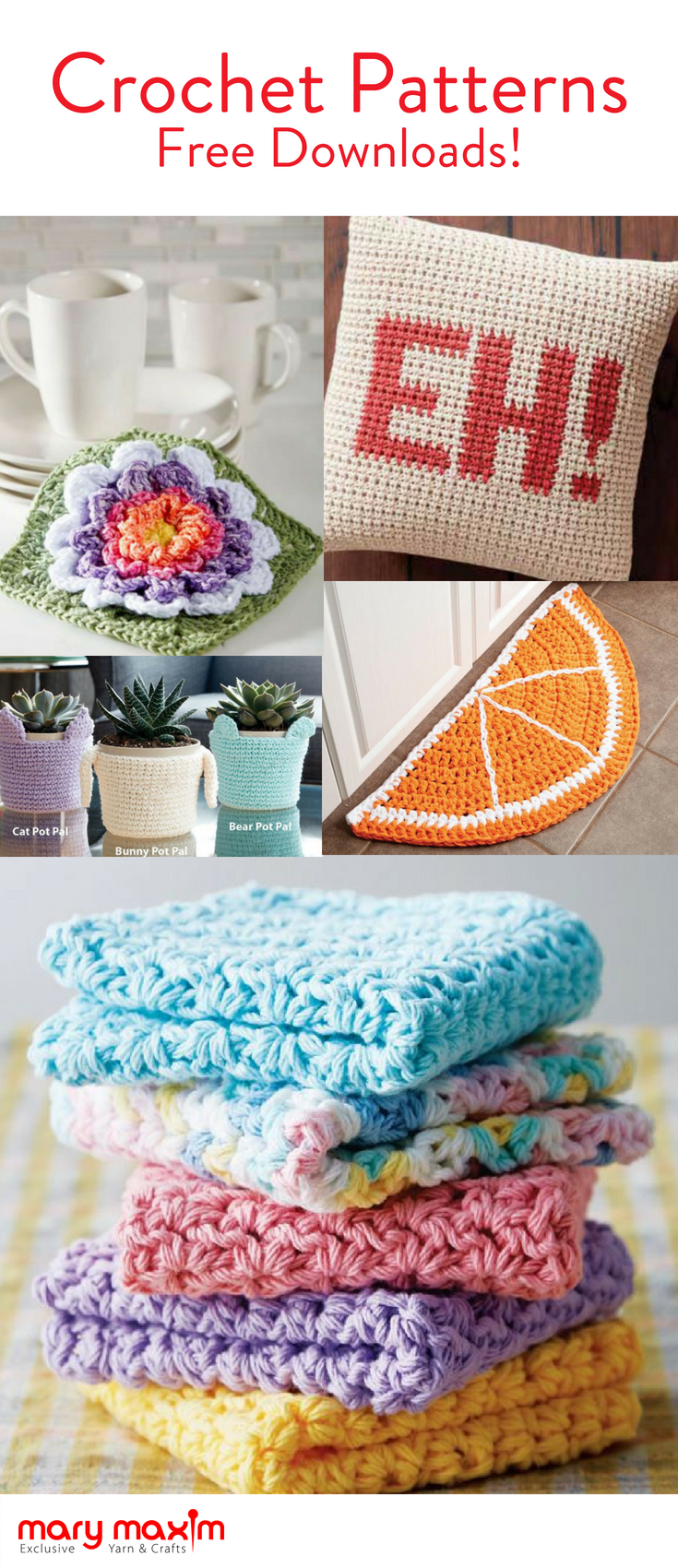 Free crochet patterns for all your favorite yarn projects. Create ...