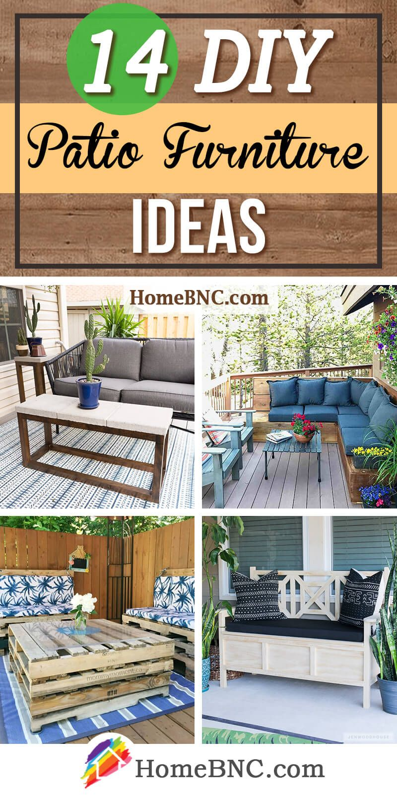 14 Budget Friendly Diy Patio Furniture Ideas To Enhance Your Summer Diy Patio Furniture Diy Patio Summer Patio Decor