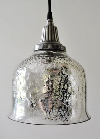 Mercury Glass Pendant Light Fixture Enchanting Mercury Glass Pendant Light Fixture  Fresh Farmhouse  Pinterest Inspiration