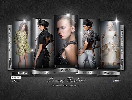 Fashion Company website template | Kıyafet Seçenekleri | Pinterest ...