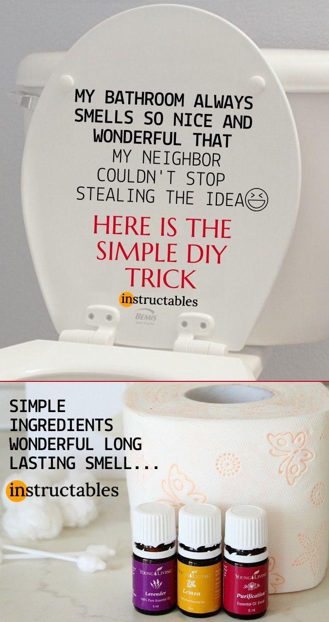 Best Homemade Air Freshener For Your Bathroom Homemade Air Freshener Cleaning Hacks House Cleaning Tips
