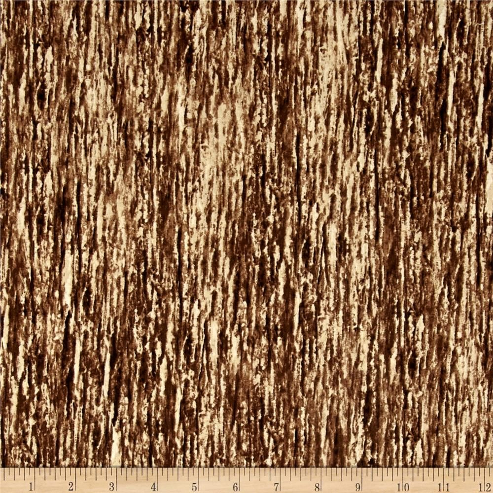 Winter Whispers Bark Texture Brown from @fabricdotcom  Designed by Michelle Mara…