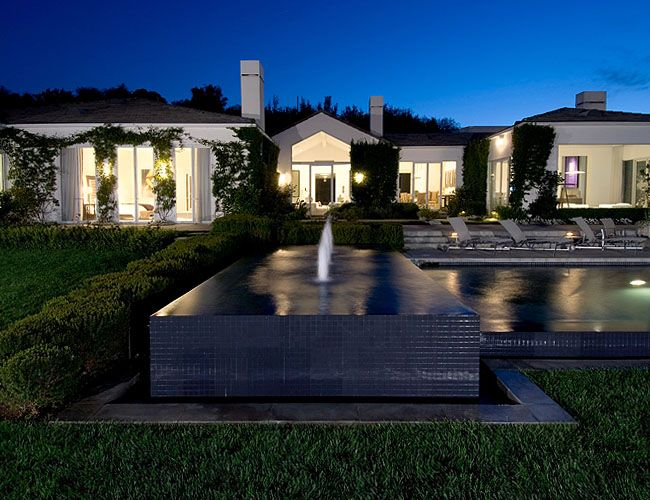 Beverly Hills Residence For Celebrities Celebrity Houses Luxury House Designs Mansions