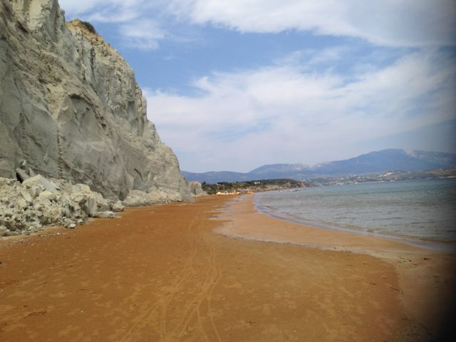 Kefalonia, Xi Beach. Picture made by Ydvdl.