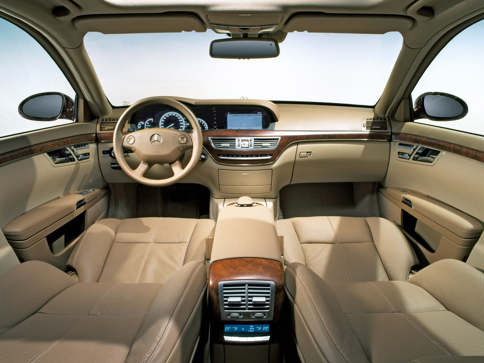 2012 mercedes s class interior