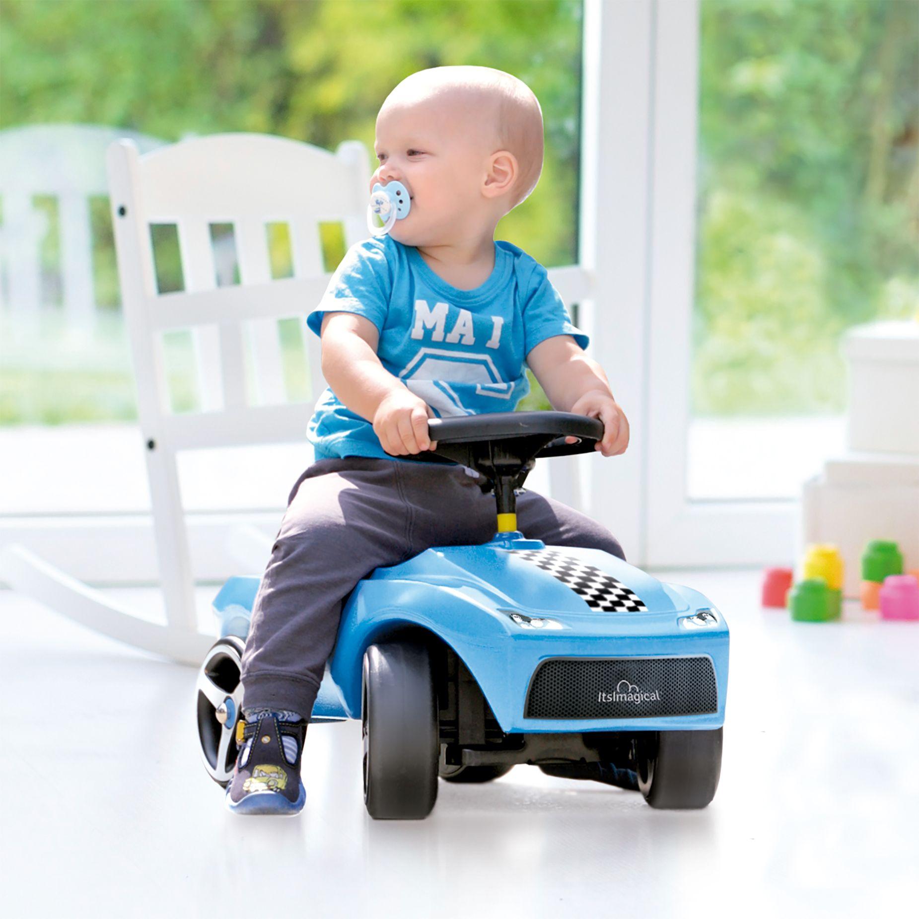 Coche correpasillos sin pedales de color azul | Color azul ...