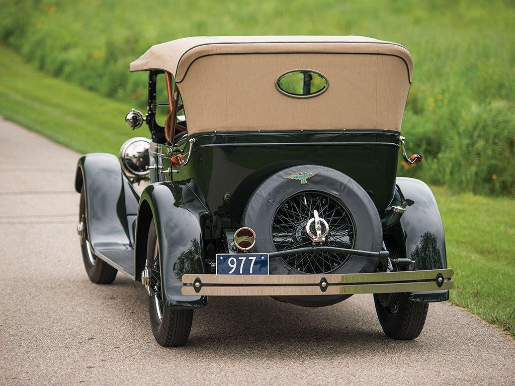 1923 Duesenberg Model A Sport Phaeton Monterey 2017 RM