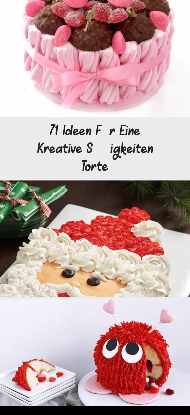 Photo of kinderschokolade torte pinata selber machen, bunten bonbons, schokolade, geleebo…